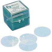 12mm Diameter Bellco Glass 1943-10012 German Glass Round Cover Slip 100 cover slips #1 Thickness