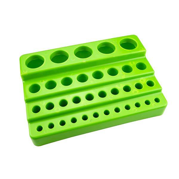 Multi-Tier Universal Rack. 35 Places, Polystyrene, Green